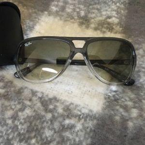 Gray Ombré Ray-Ban Sunglasses